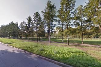 Вид на сквер Космонавтов в Красноярске