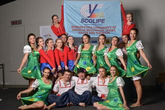 Сборная России — чемпион мира по массовой гимнастике