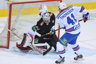 В Челябинске СКА отправил семь безответных шайб в ворота «Трактора»