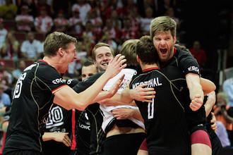 Сборная Германии по волейболу — бронзовый призер чемпионата мира