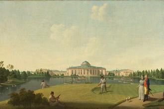 Бенджамен Патерсен (1750–1815). Садовый фасад Таврического дворца