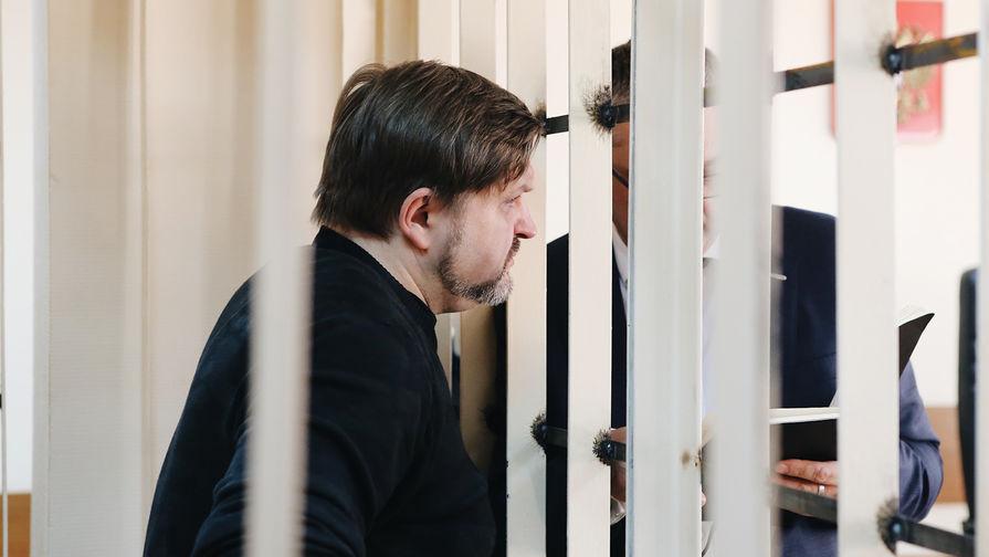 Экс-губернатор Кировской области Никита Белых перед оглашением приговора в Пресненском суде Москвы, 1 февраля 2018 года
