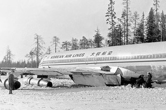 «Boeing 707» на озере Корпиярви, 21 апреля 1978 года, фото из архива УФСБ по РК