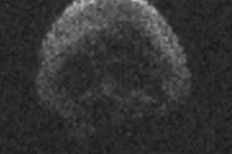 Астероид TB145, изображение с радарного телескопа