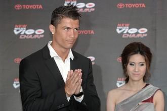 Криштиану Роналду еще недавно был на одной из презентаций в Таиланде