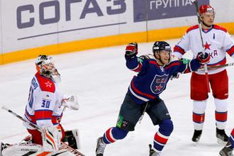 Открыв счет, СКА не сумел победить московских одноклубников