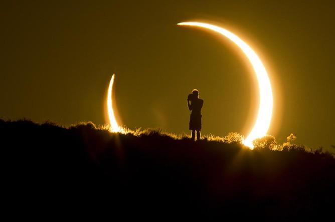 Категория «Мир природы». Солнечное затмение 20 мая 2012 года.