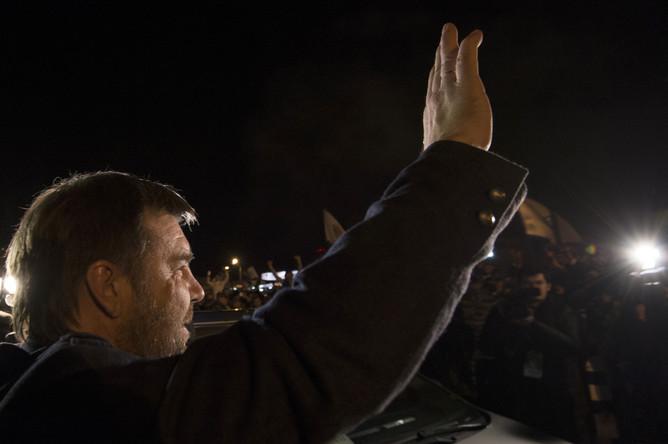 Олег Знарок поприветствовал динамовских фанатов