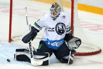 Голкипер «Медвешчака» Марк Деканич не выручил свою команду в Нижнекамске