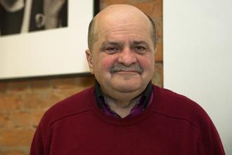 Кинодраматург Александр Миндадзе на премьере фильма «Милый Ханс, дорогой Петр» в кинотеатре «Пионер»
