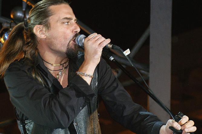 Шон Карр принимает участие в концерте по случаю Дня независимости в Киеве, 2005 год