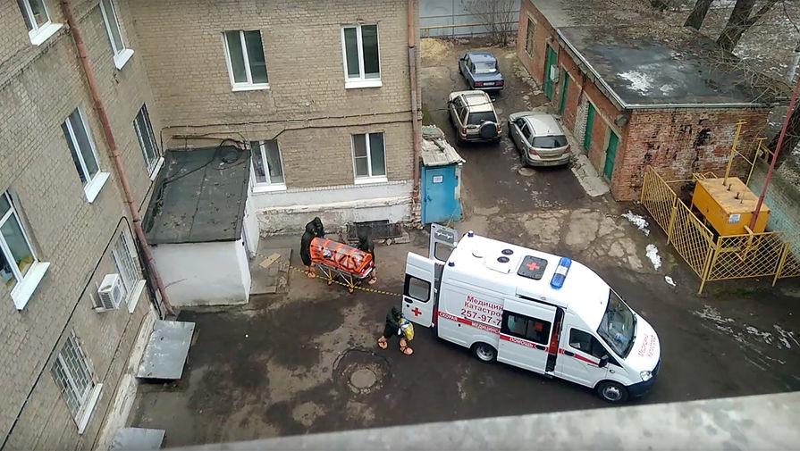Госпитализация пациента с подозрением на коронавирус в Воронеже, 28 января 2020 года