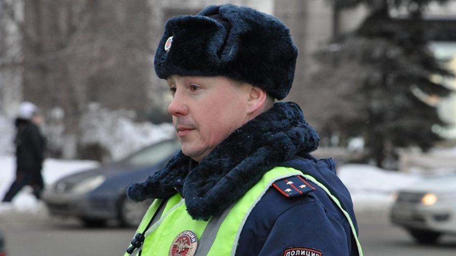 Спас собаку: в Челябинске нашелся добрый гаишник
