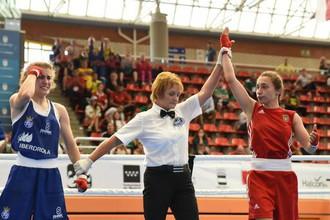 Член женской сборной Украины по боксу