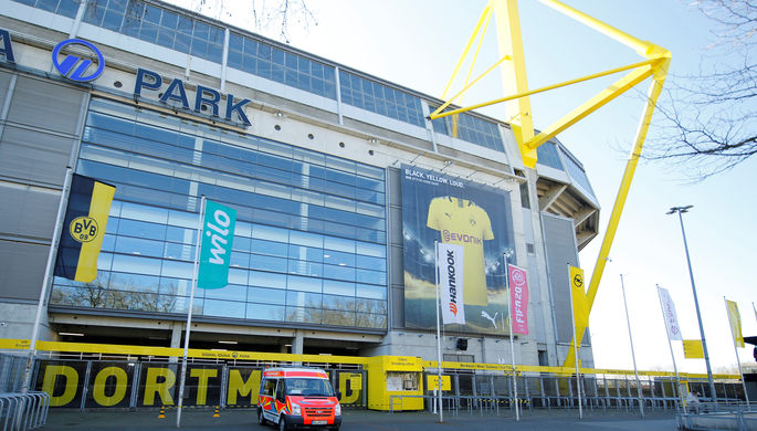 Стадион дортмундской «Боруссии» стал центром по борьбе с коронавирусом