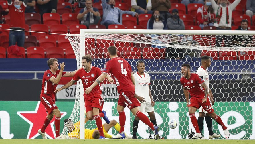 Эпизод матча «Бавария»- «Севилья»