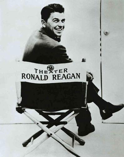 Рональд Рейган в роли ведущего телесериала General Electric Theater, 1954–1962 годы