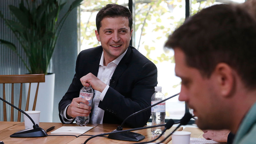 У Зеленского упал рейтинг на Украине