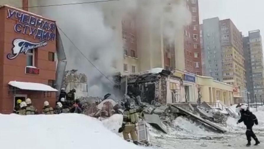 СК прокомментировал версию о причинах взрыва в Нижнем Новгороде