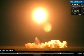 Запуск ракеты-носителя Falcon 9 со спутником Hispasat 30W-6 с мыса Канаверал во Флориде, 6 марта 2018 года