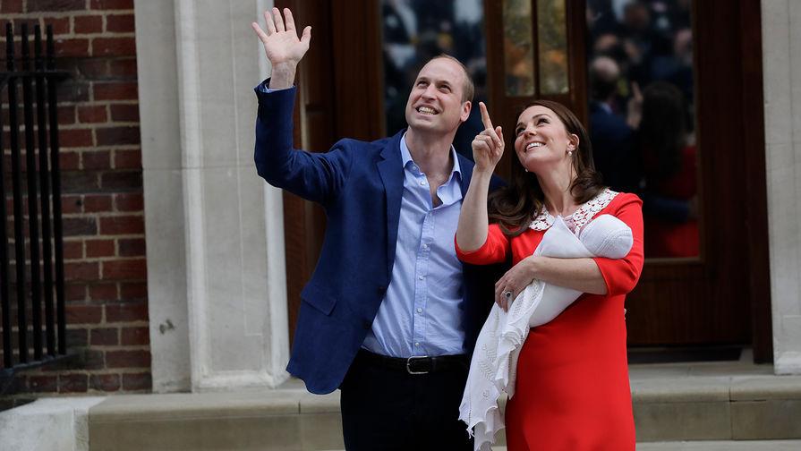 Маленький принц: Кейт Миддлтон родила сына