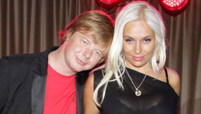 Солист группы «Иванушки International» Андрей Григорьев-Апполонов с супругой