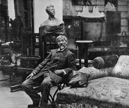Илья Репин в «Пенатах», 1914 год