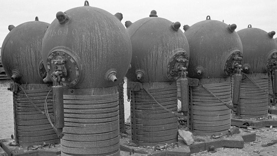 Морские мины ударного действия, 1944 год