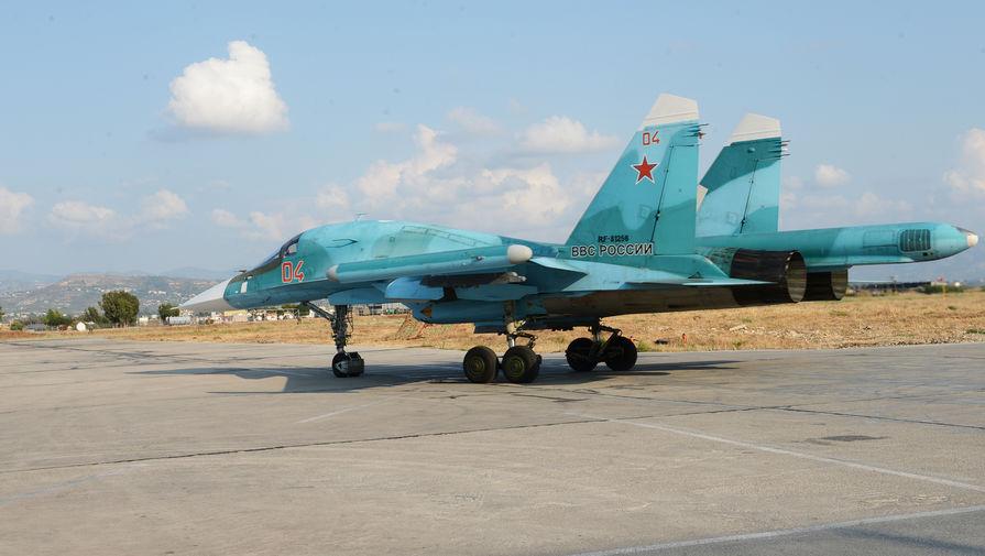 Российские бомбардировщики Су-34 провели учения под Воронежем