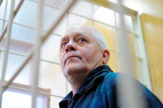 Капитан Сергей Марченко во время оглашения приговора в Мытищинском суде