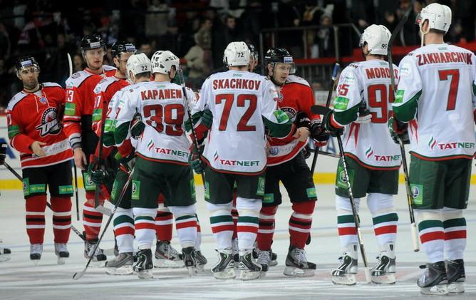 «Ак Барс» на своем льду переиграл «Донбасс»