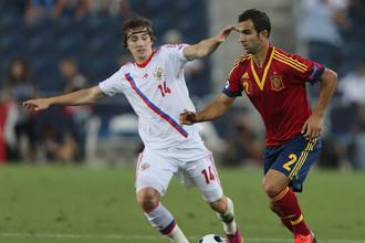 Несмотря на поражение от испанцев для сборной России главное не опустить рук