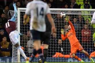 «Тоттенхэм» проиграл «Вест Хэму» в четвертьфинале Кубка английской лиги