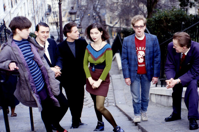 Бьорк с группой The Sugarcubes
