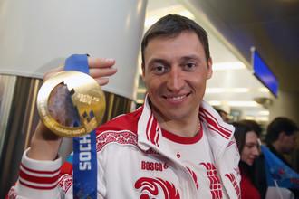Александр Легков на Олимпийских играх в Сочи