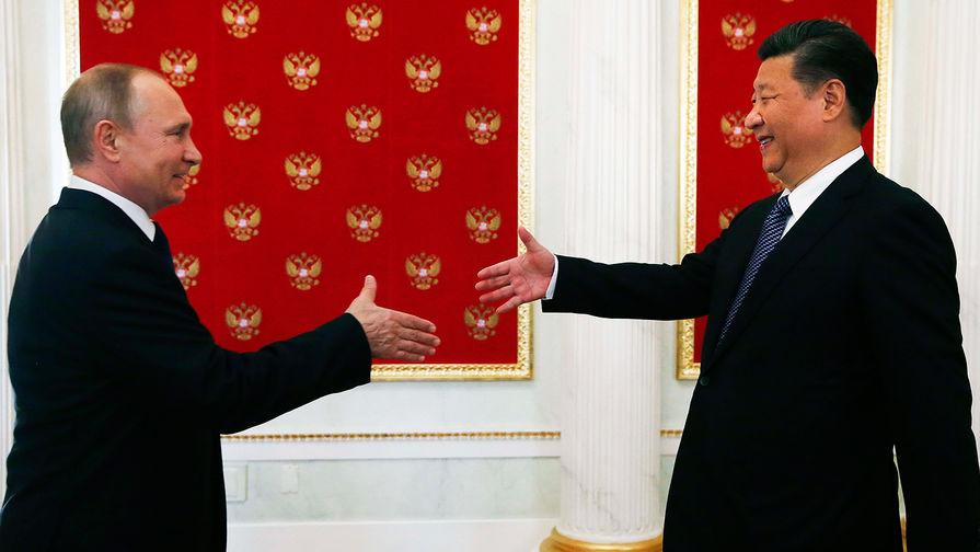Картинки по запросу Путин встретился с Си Цзиньпином в Кремле