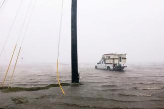 Наводнение, вызванное ураганом «Харви» в Корпус-Кристи, штат Техас, 25 августа 2017 года