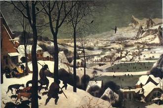 Питер Брейгель «Охота в снегу»
