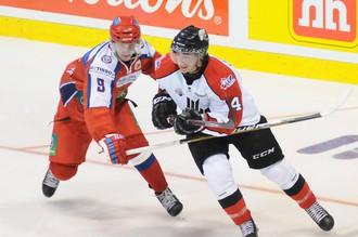 Молодежная сборная России одержала две победы над командой юниорской лиги Квебека в рамках суперсерии