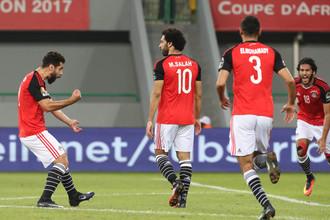 Шестикратный обладатель Кубка Африки сборная Египта рвется к очередному титулу