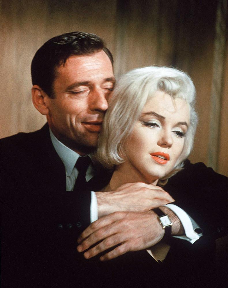 Мэрилин Монро и Ив Монтан в сцене из фильма «Займемся любовью» (1960)