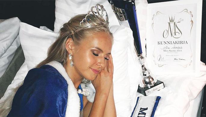 Мисс Финландия 2018 стала девушка с русскими корнями Алина Воронкова