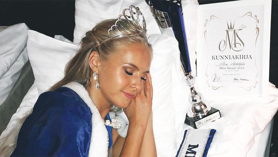 """Победу в конкурсе """"Мисс Финляндия"""" одержала девушка с русскими корнями"""