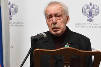 Писатель Андрей Битов, награжденный орденом «Дружбы», 2018 год