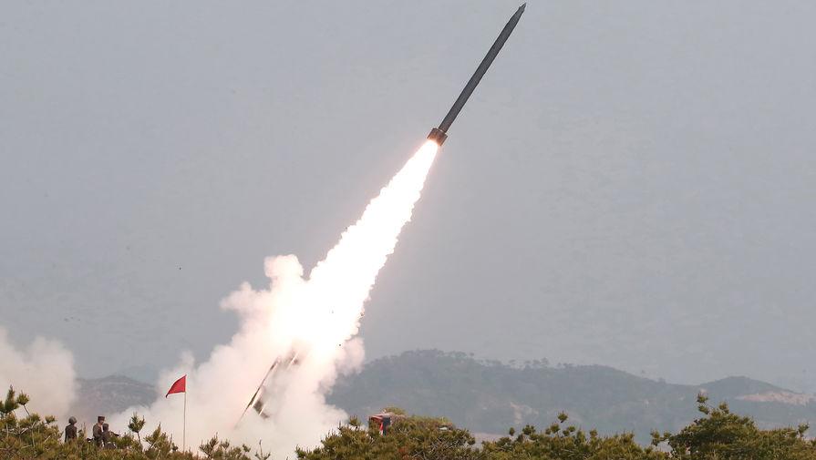 Запуск ракет малой дальности в КНДР, май 2019 года