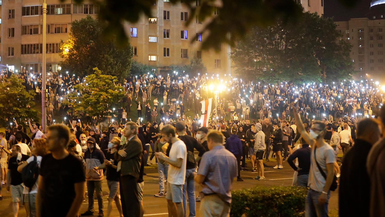 Как прошла ночь после выборов в Белоруссии - Газета.Ru | Фото