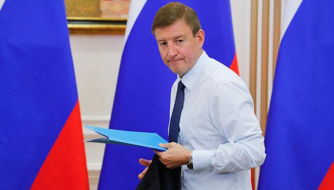 Губернатор Псковской области Андрей Турчак, август 2017 года