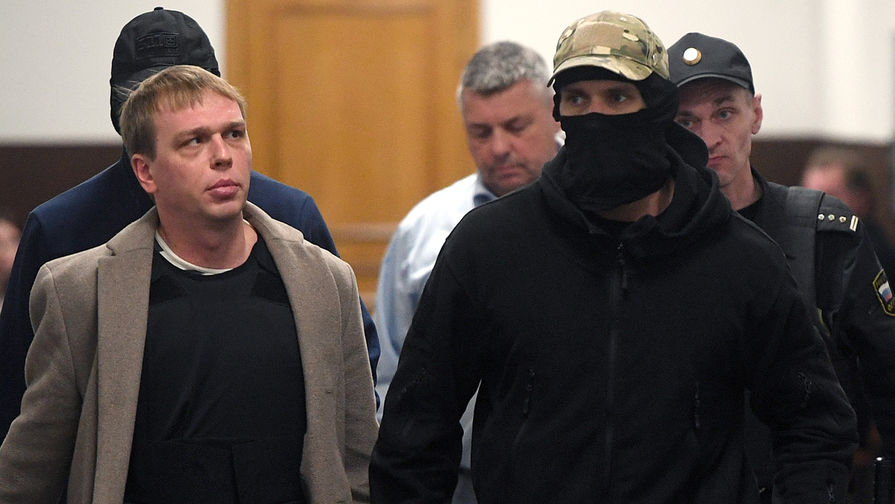 Журналист интернет-издания «Медуза» Иван Голунов в Басманном суде Москвы, где рассматривается жалоба журналиста на следствие, которое, по его мнению, не торопится расследовать историю с подброшенными наркотиками, 11 ноября 2019 года