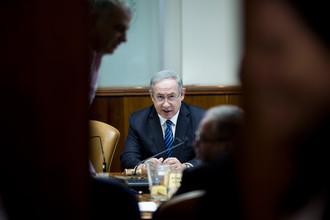 Премьер-министр Израиля Биньямин Нетаньяху