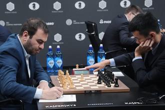 Дин Лижэнь одержал победу в шахматном Гран-при в Москве